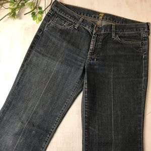 7 For All Mankind DoJo Flare Jeans Size 32